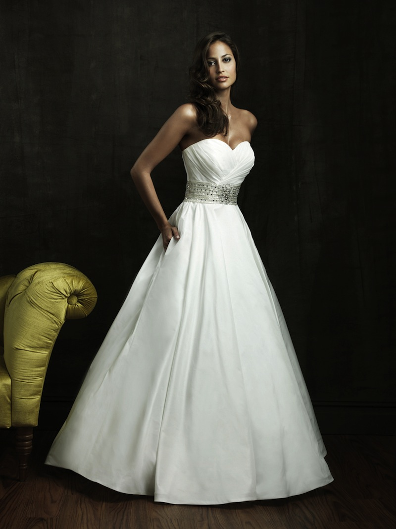 Dress pictured above from allure
