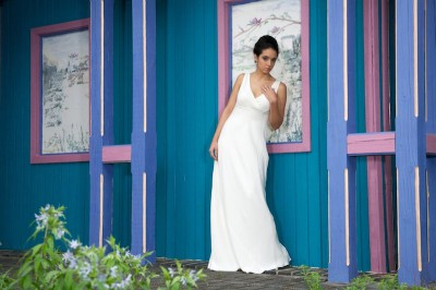 jc raulston arboretum bridal portrait photography