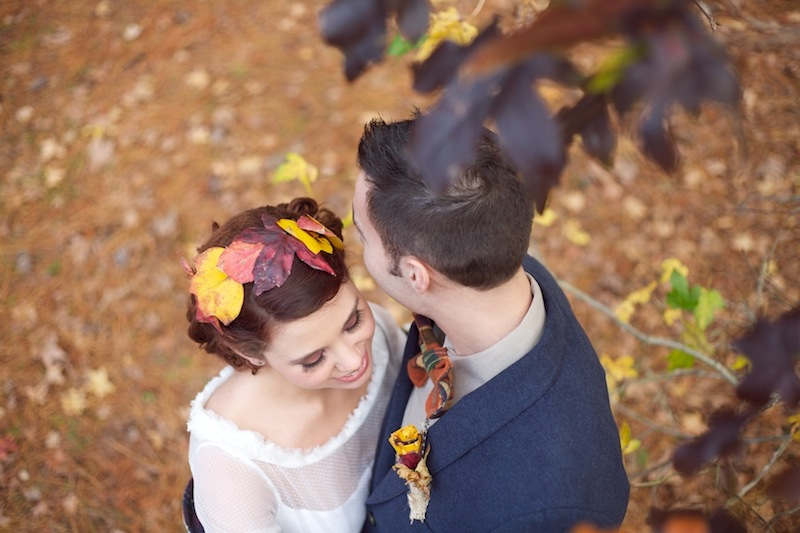 fall wedding inspiration rustic couture brides