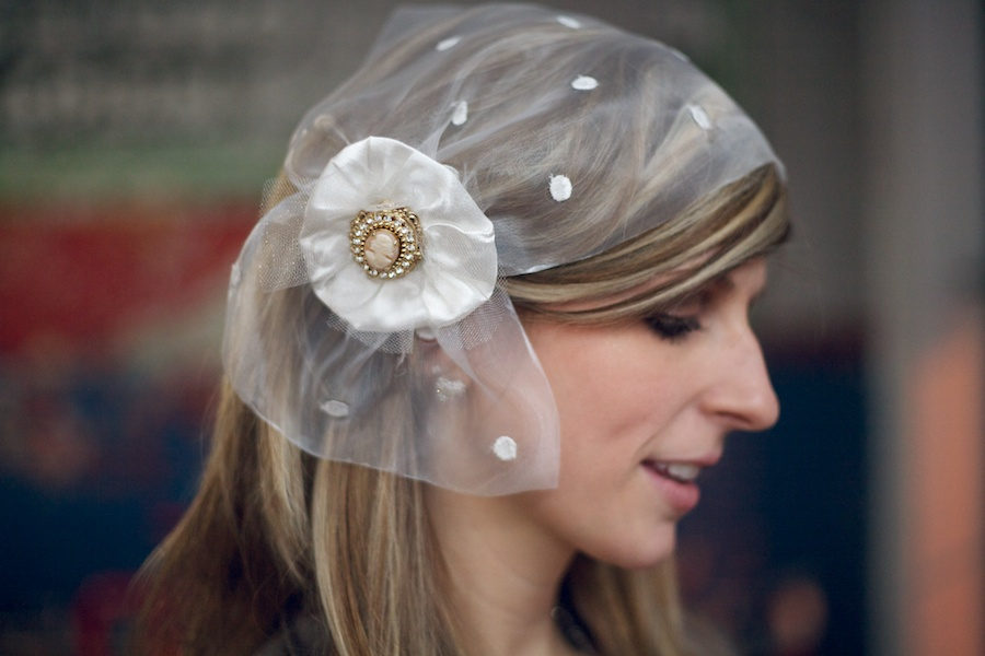 vintage bridal headpieces and veils