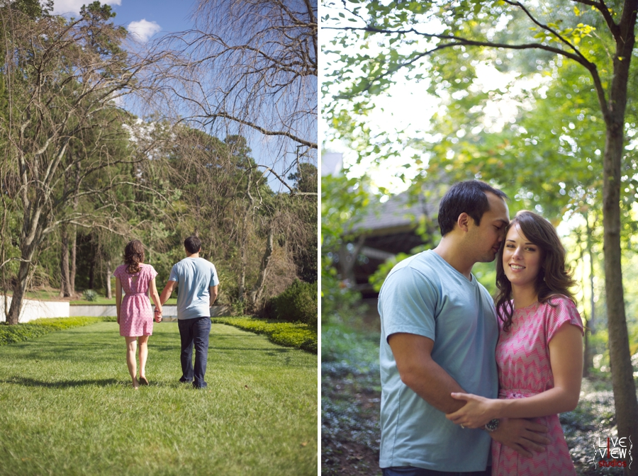 winston salem nc engagement photography