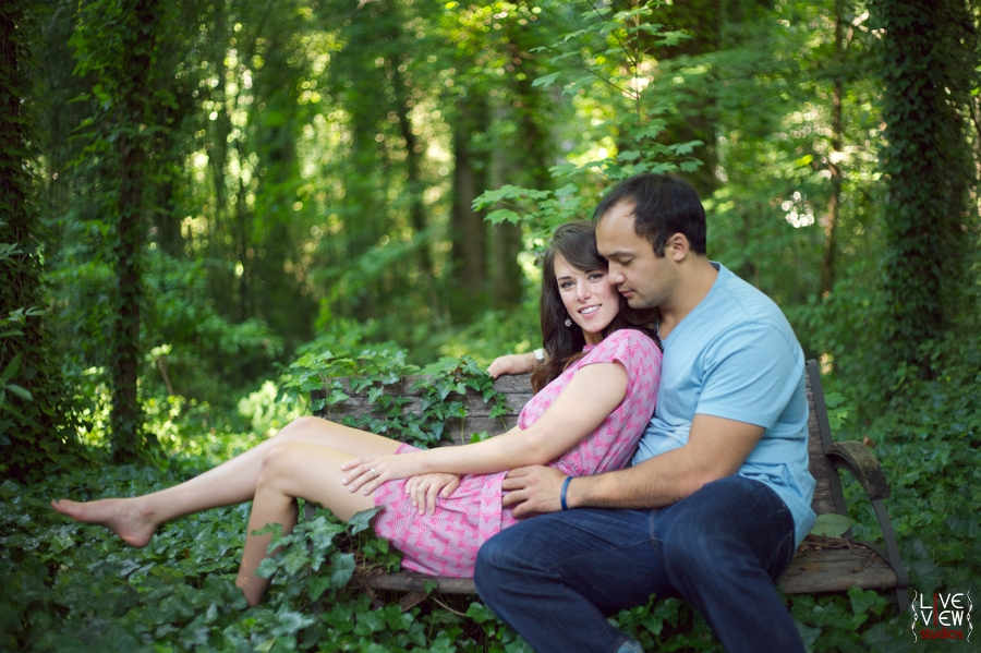 ethereal engagement photographs