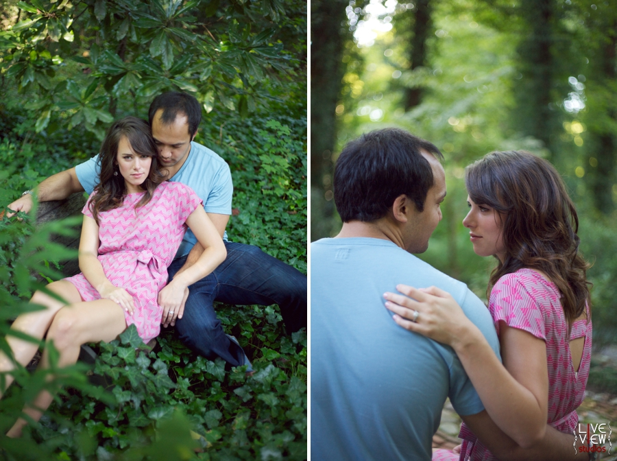 editorial engagement photography for people in love