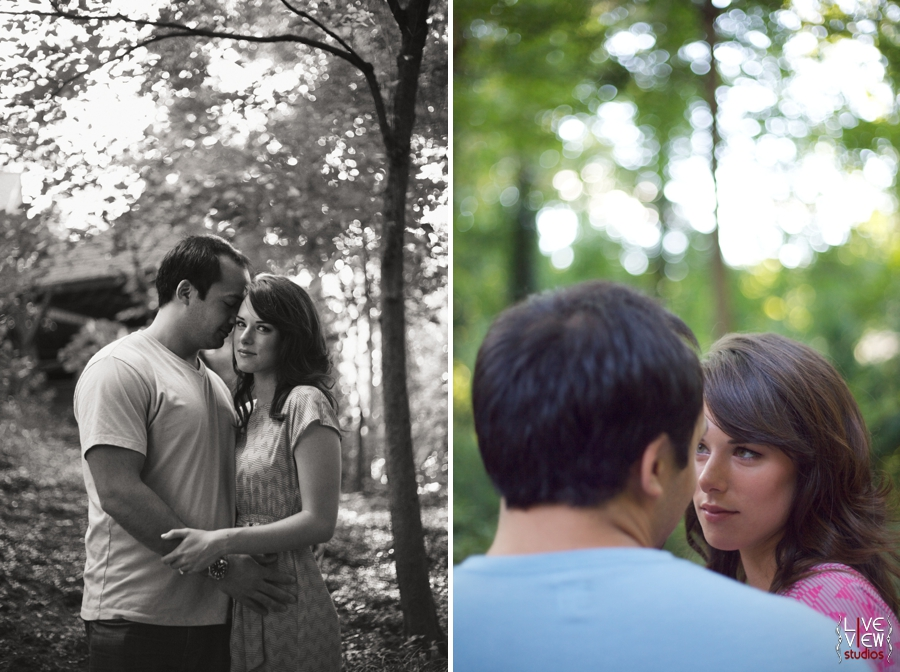 romantic engagement photography southern weddings