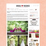 Featured: Bridal Musings, and Weekend Fun