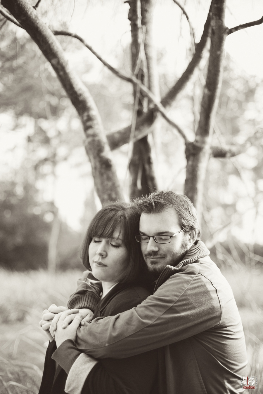 romantic southern engagement photographer