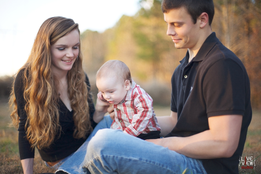 sunlit family photography north carolina