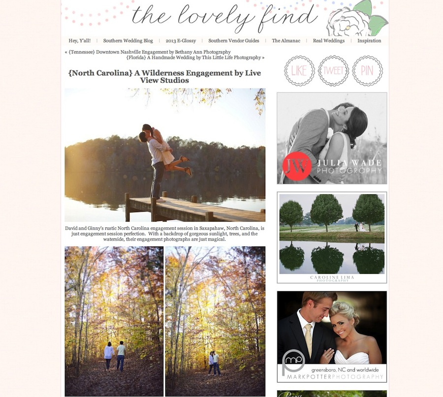 {North Carolina} A Wilderness Engagement by Live View Studios