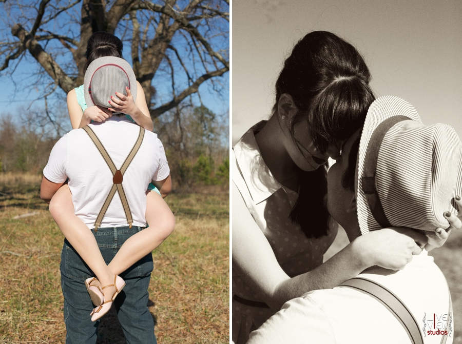romantic southern couple's photography, vintage inspired engagement photographers