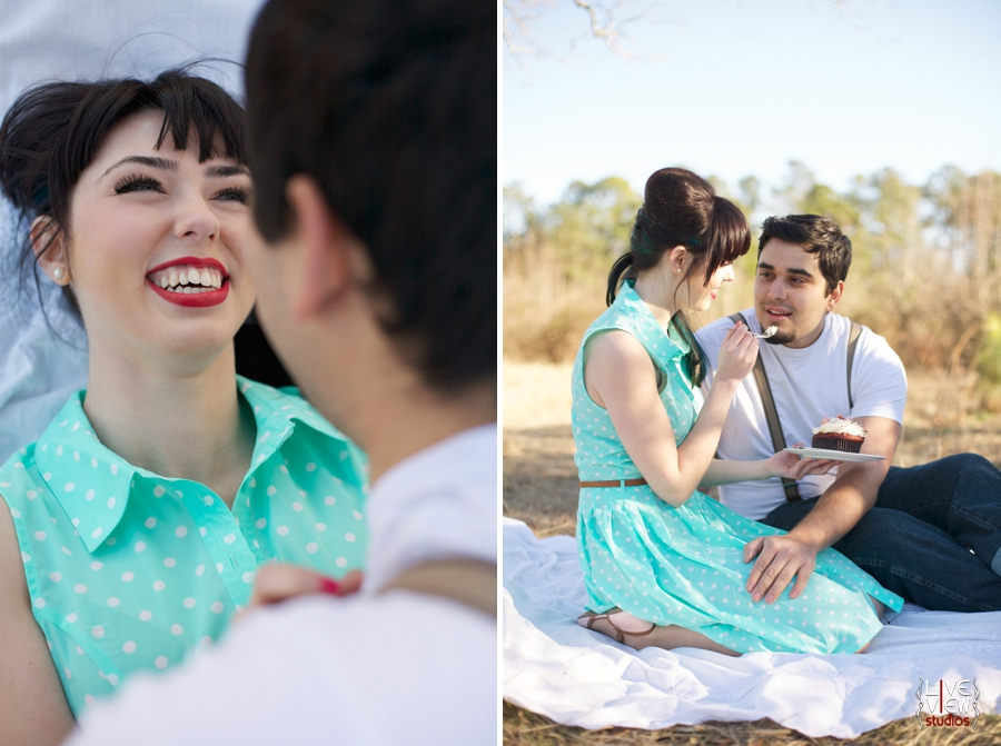 southern vintage engagement photography, raleigh nc couple's photography