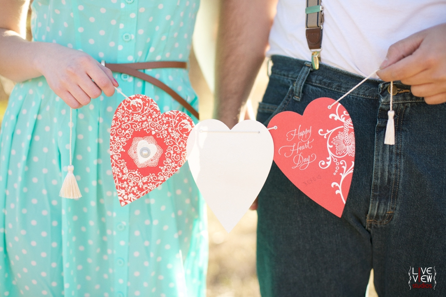 valentine's day couple's photography