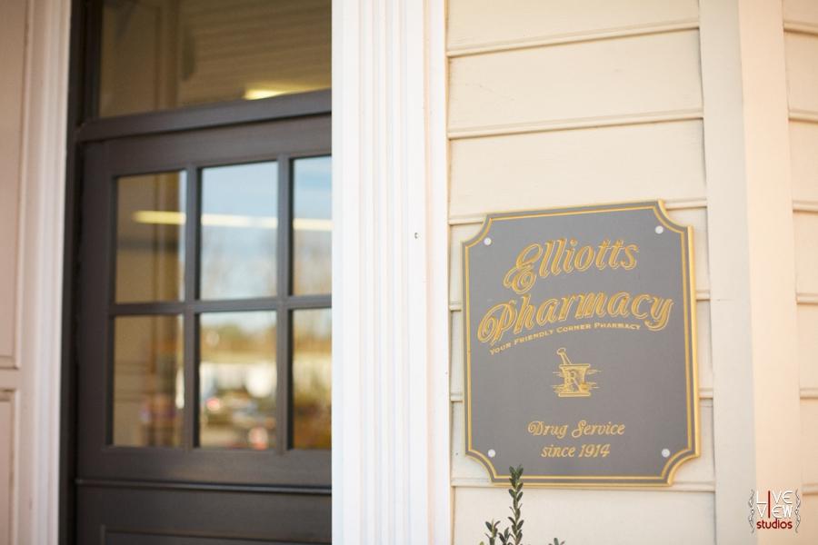 elliotts pharmacy in north carolina, fun retro stores and buildings