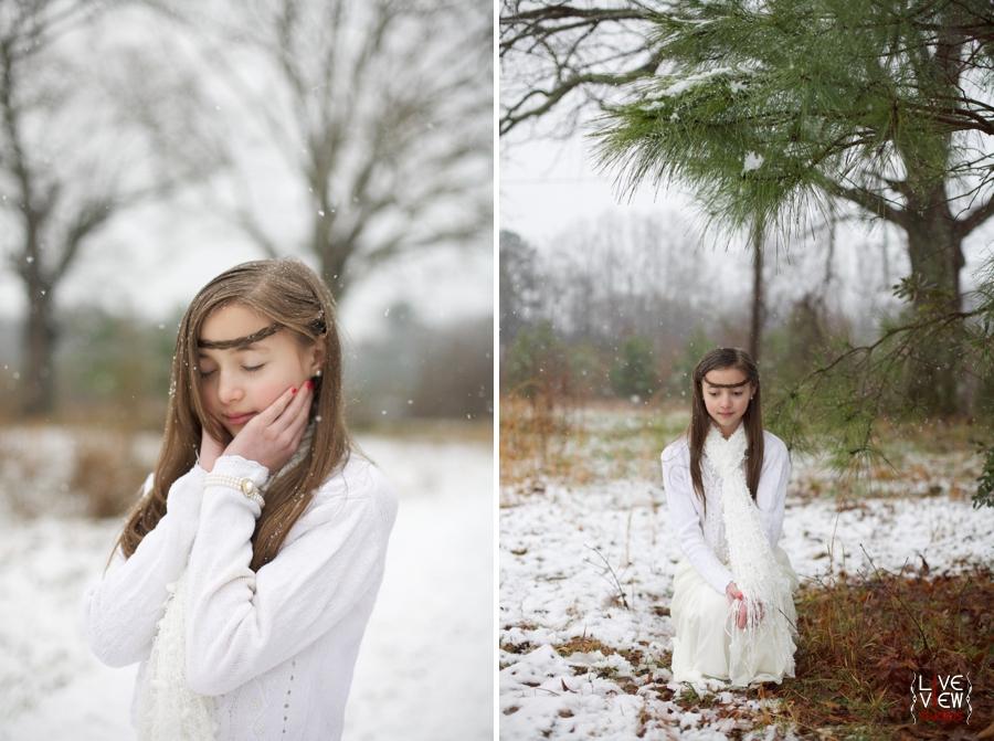 creative children's portraits, ethereal children's photography