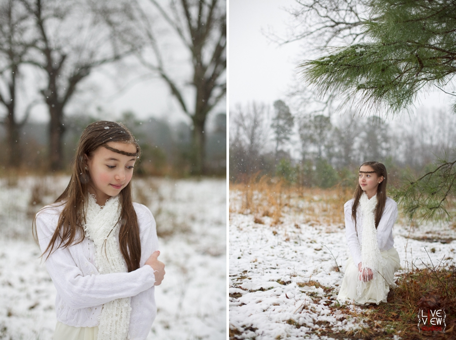 beautiful vintage inspired children's photography, children's outdoor winter portraits
