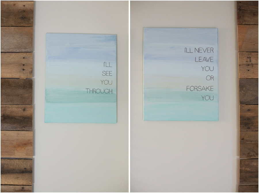 beautiful artwork with inspiring quotes, surprise bedroom makeover ideas