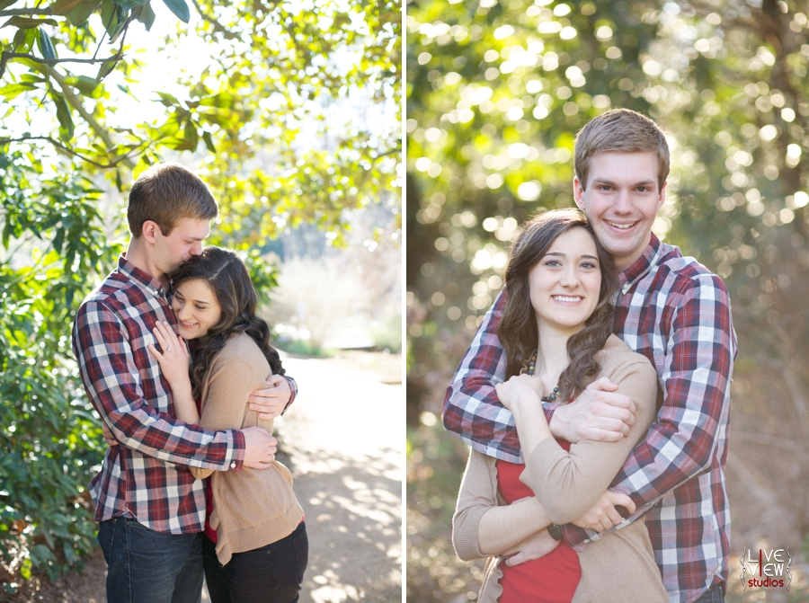 romantic young couple's photography, southern engagement photographers, raleigh nc