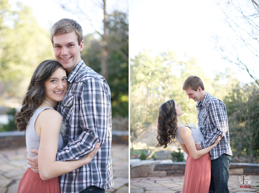 Young couple photography cute engagement photography