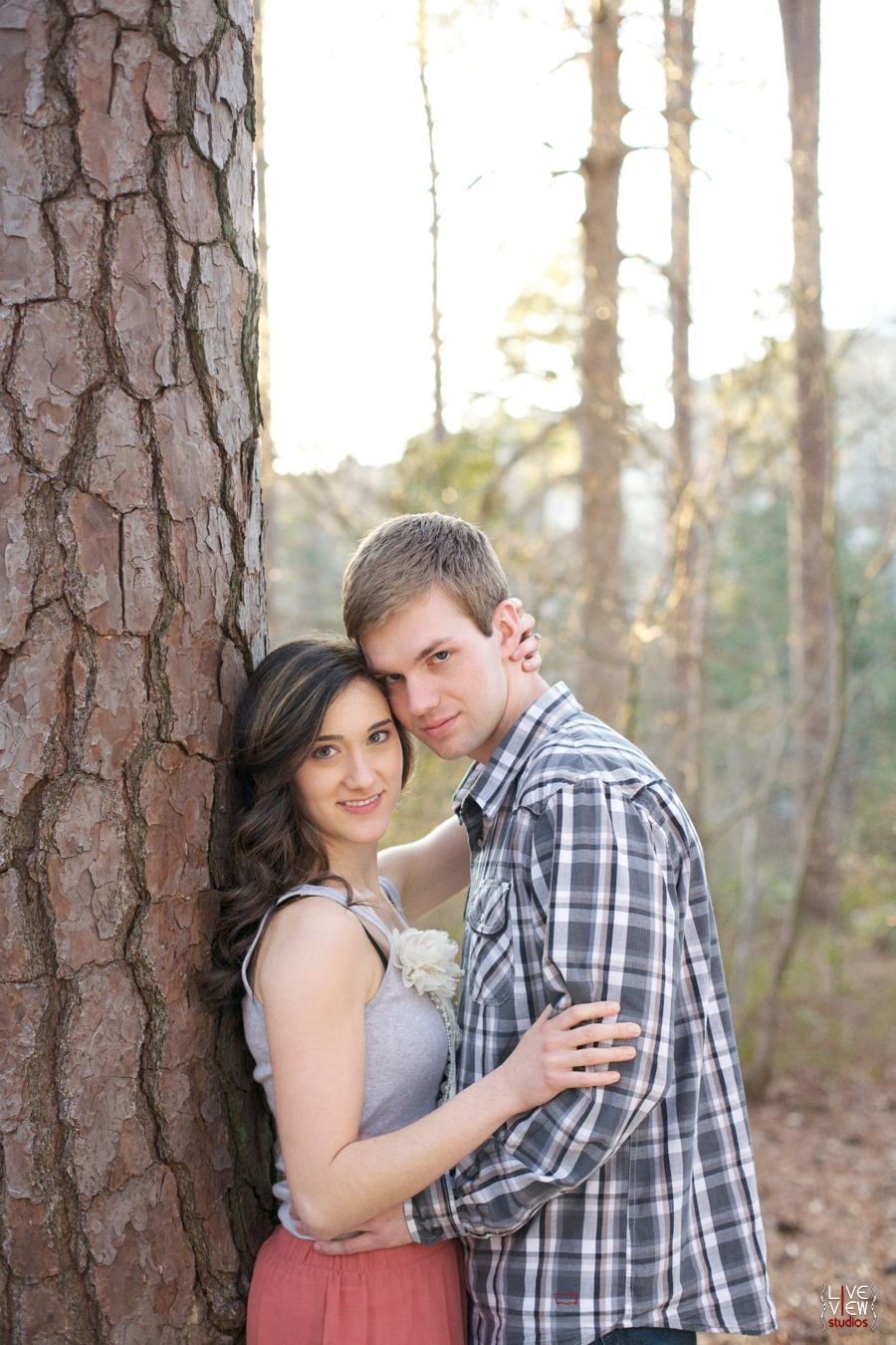 romantic couple's portraits, southern engagement photography, raleigh nc