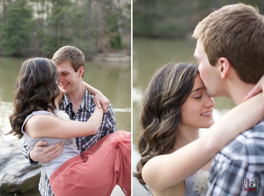 intimate engagement photographers, romantic couple's photography