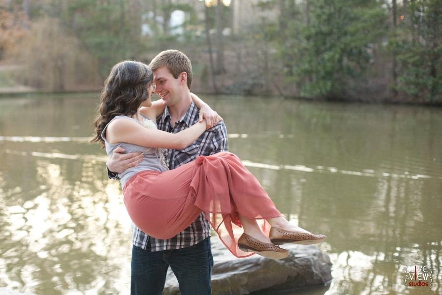 duke gardens couple's photography, raleigh nc engagement photographers