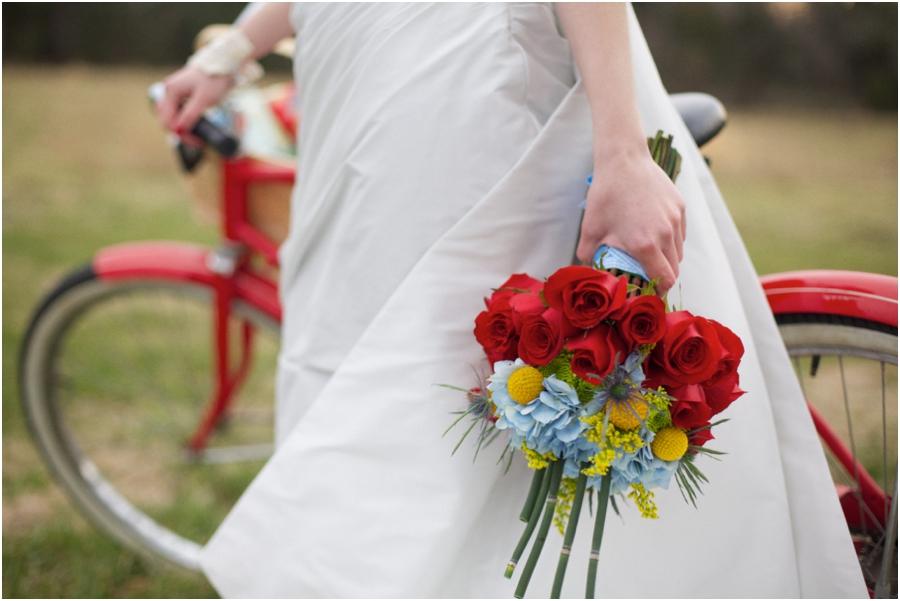 fresh rose bridal bouquet, bright wedding color schemes