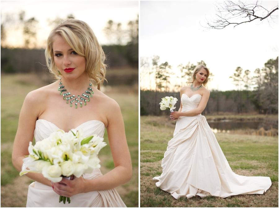 north carolina bridal portrait photographers, beautiful strapless wedding dresses