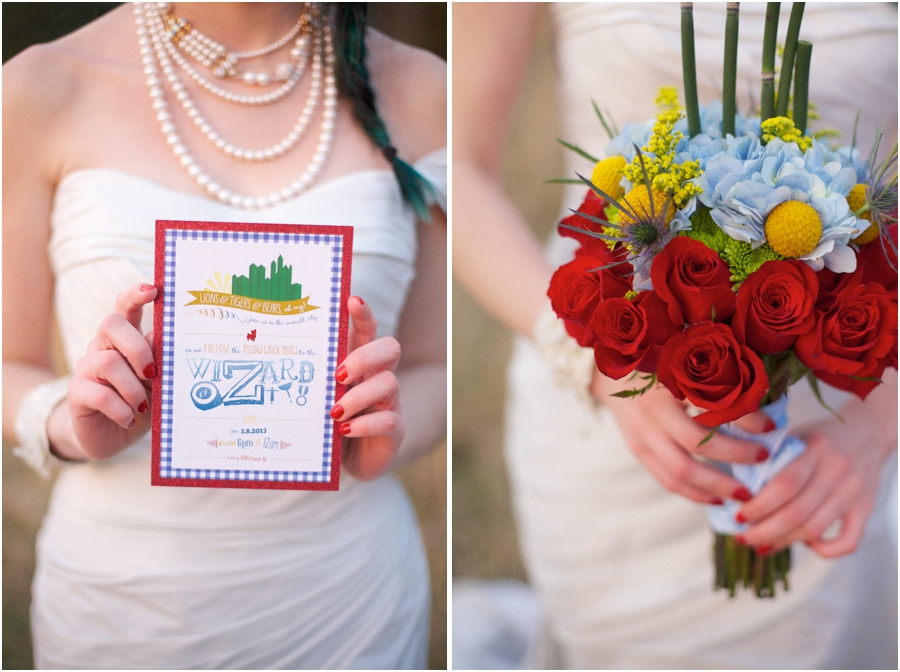 oz the great and powerful inspired wedding photography, eclectic wedding photography