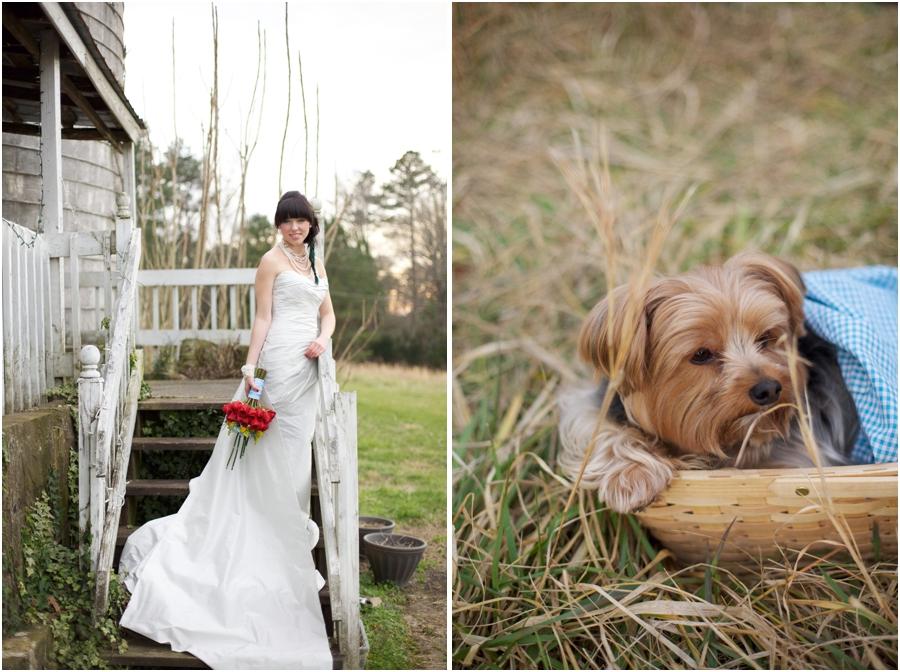 rustic farm wedding photography, cute pet photography, raleigh nc