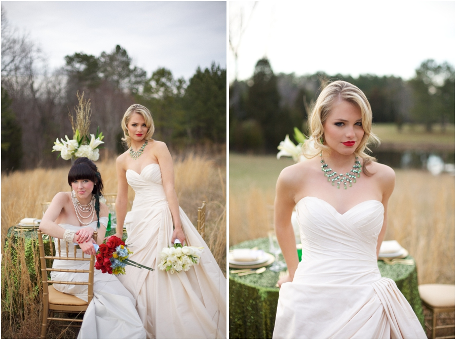 wizard of oz wedding inspiration, emerald bridal jewelry, rustic wedding photographers, raleigh nc
