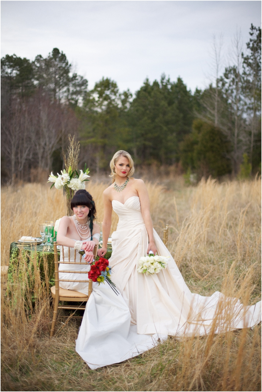 romona keveza couture wedding gowns, southern rustic wedding photography, raleigh nc