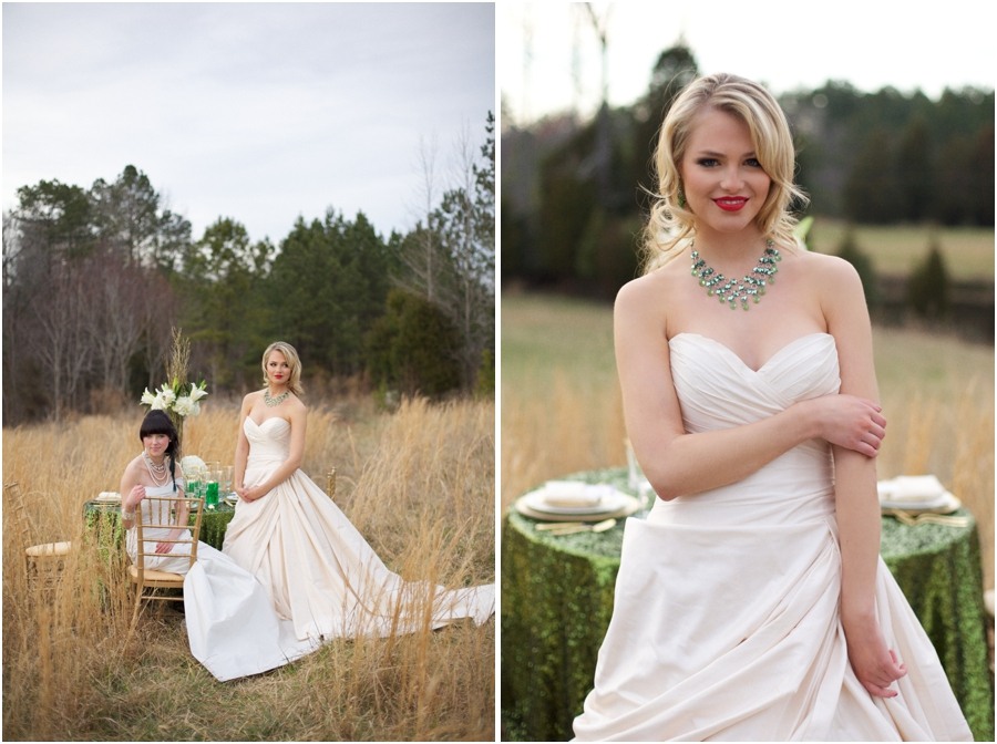 romona keveza couture wedding gowns, southern bridal portrait photography, raleigh nc