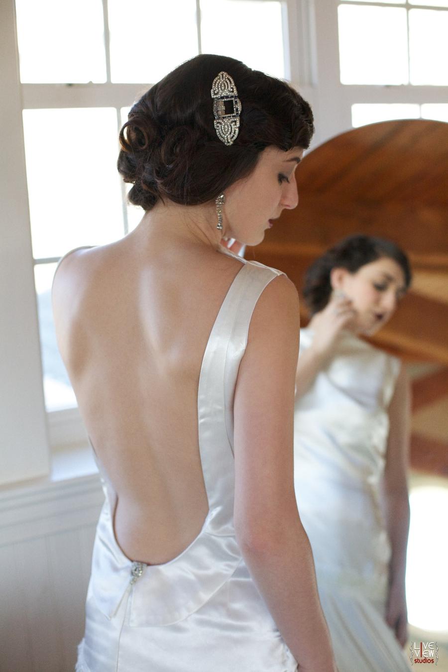20's inspired wedding photography, beautiful bridal portraits