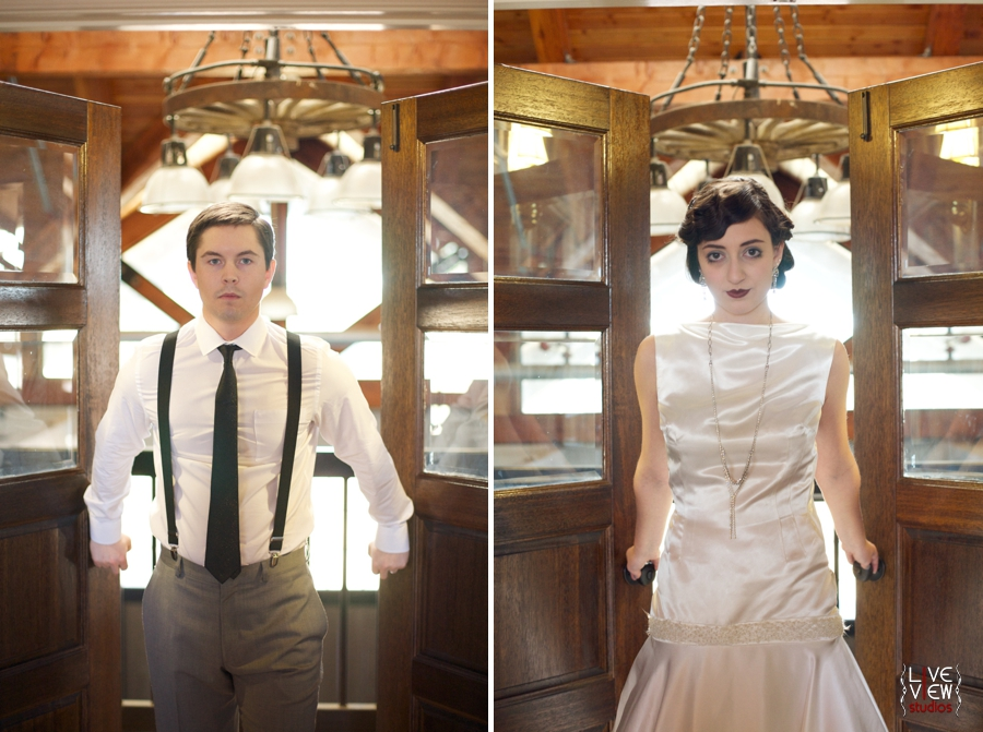 20's winter wedding inspiration, bride and groom's portraits, raleigh nc wedding photographers