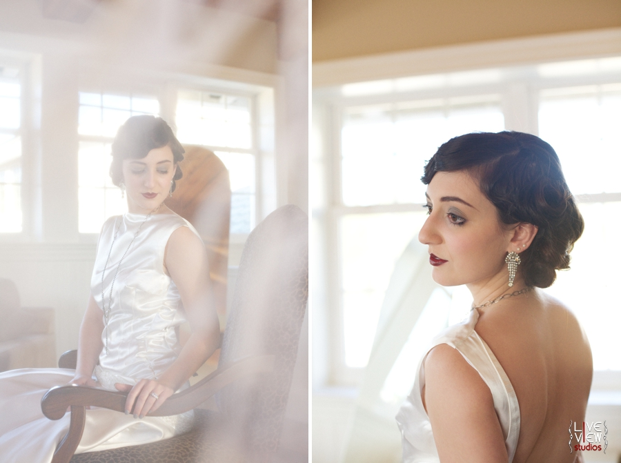 stunning bridal portraits, north carolina vintage wedding photography