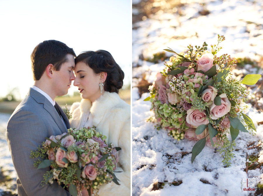 20s inspired wedding photography, beautiful fresh floral bridal bouquet from embellished blooms, raleigh nc wedding photographers