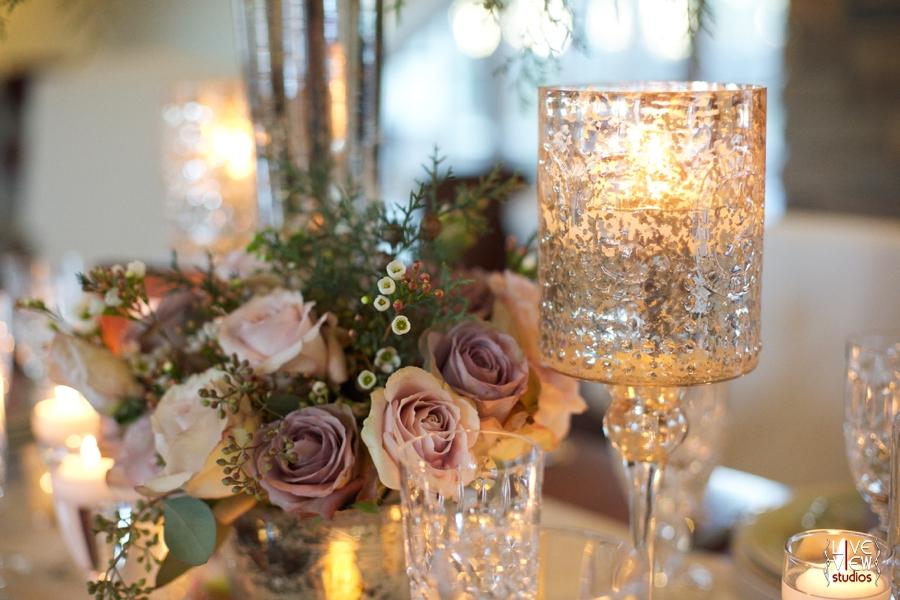fresh floral centerpiece, vintage wedding photography