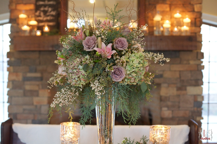 beautiful floral arrangements by embellished blooms at piazza at portofino