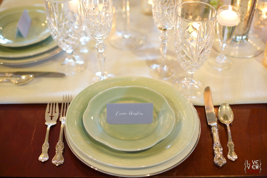 vintage winter wedding photography, reception table setting inspiration