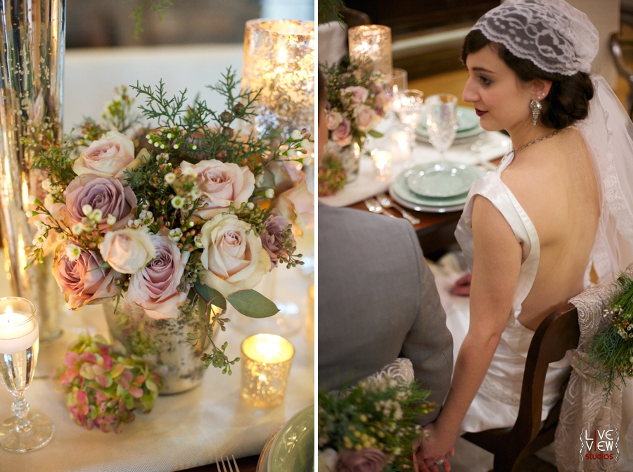 Vintage Winter Wedding Inspiration Raleigh Nc Photographers