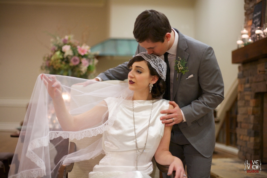 1920s inspired wedding photography, vintage winter wedding photographers, raleigh nc
