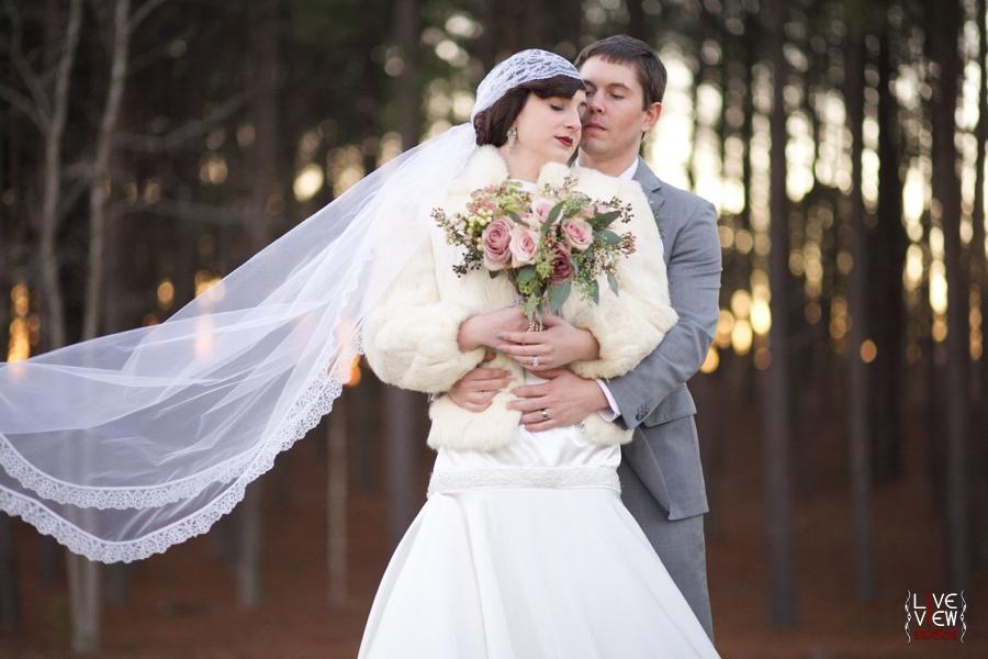 beautiful wedding portraits, sunset wedding photography