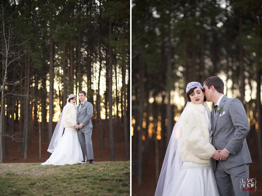 sunset wedding photography, romantic wedding portraits