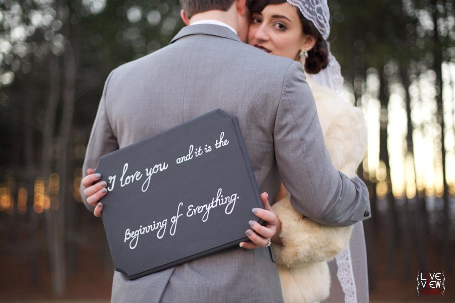 1920s inspired wedding photography