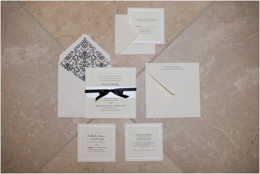 elegant wedding invitations, highgrove wedding photography