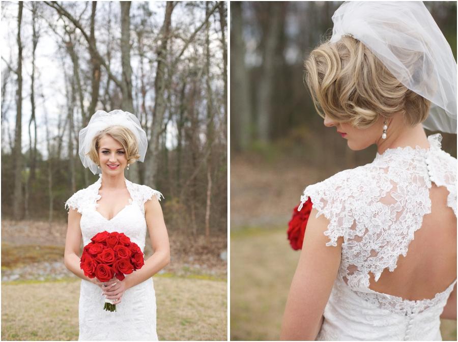 southern bridal portraits, vintage wedding photographers, raleigh nc