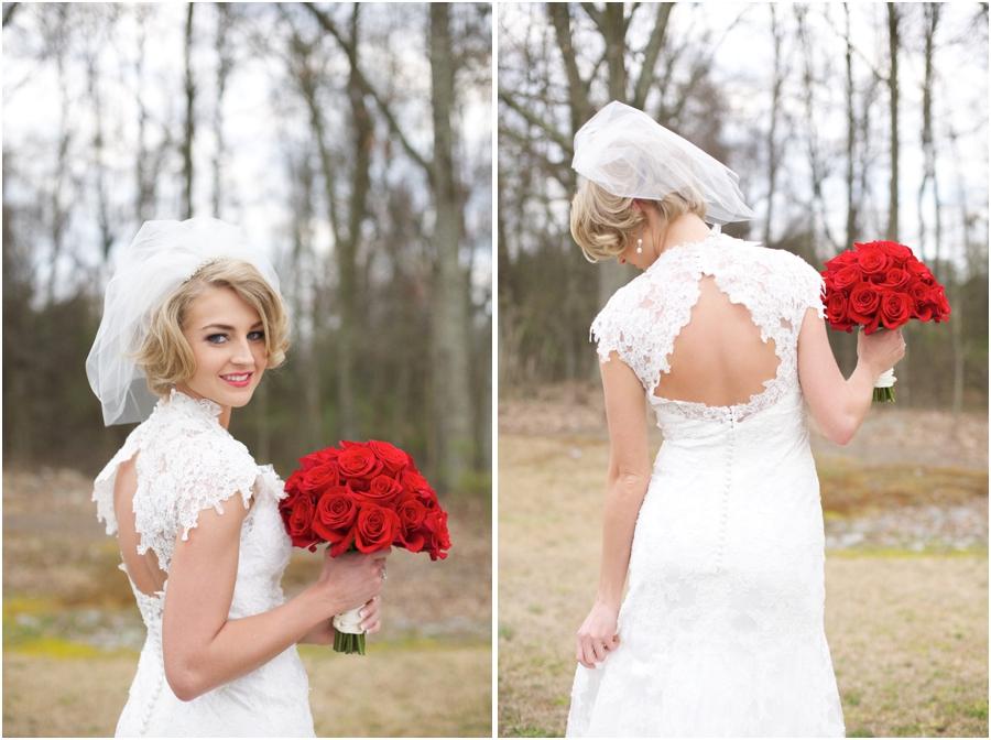 southern bridal portrait photography, vintage wedding photographers