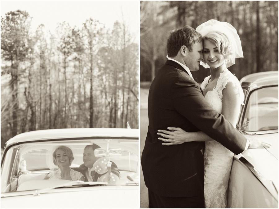 vintage wedding photography, black and white wedding portraits
