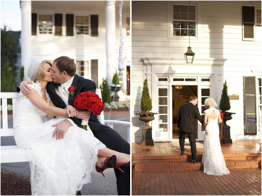 highgrove estate fuquay varina wedding photography