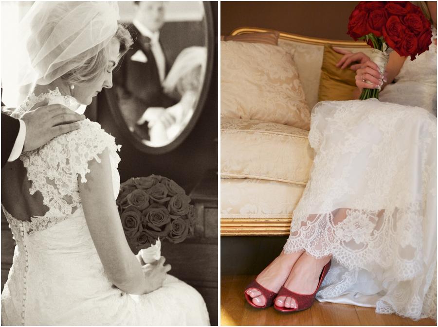 beautiful vintage wedding photography, southern bridal portraits