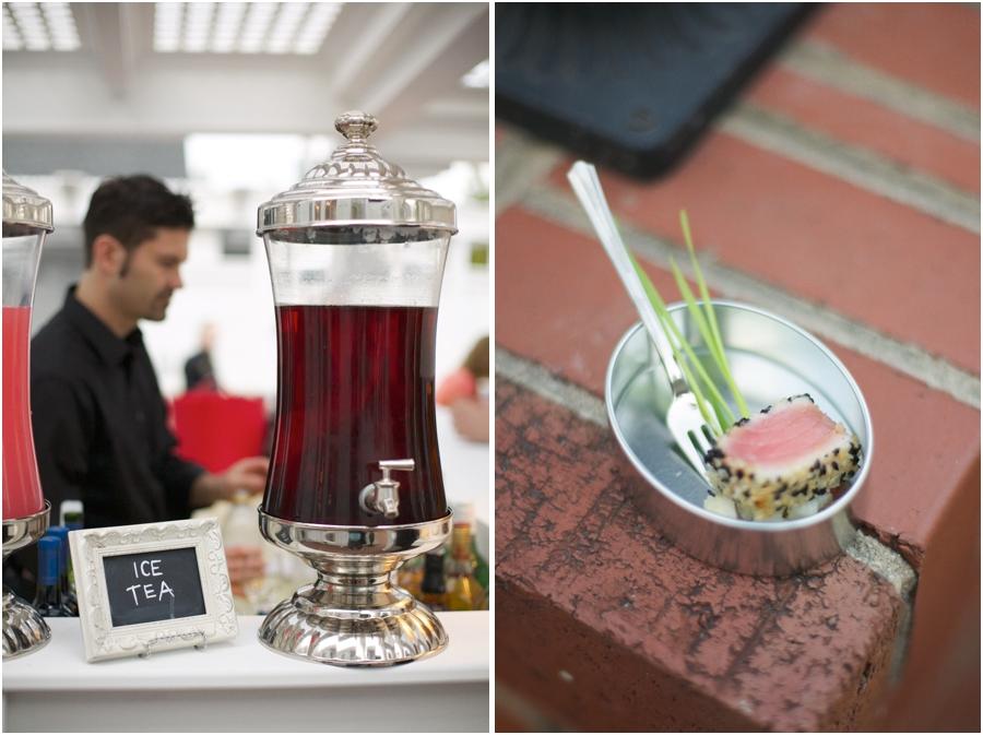 ice tea at wedding reception, southern wedding reception ideas